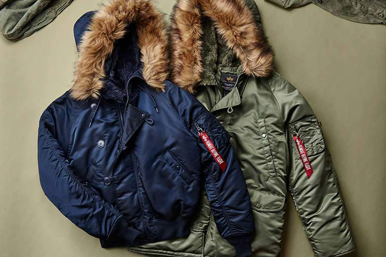 Изображение: Обзор классических курток алясок Alpha Industries N-3B и N-2B
