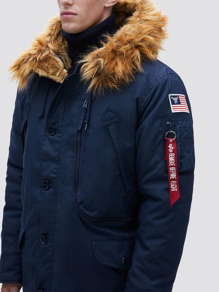 Изображение: Зимняя куртка N-3B Alpine Parka - новинка сезона 2019-2020 от Alpha Industries