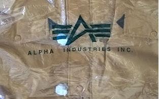 Изображение: Стандарты фирменной упаковки курток Alpha Industries