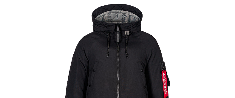 Изображение: Новая куртка пуховик N-3B DOWN PARKA от Alpha Industries