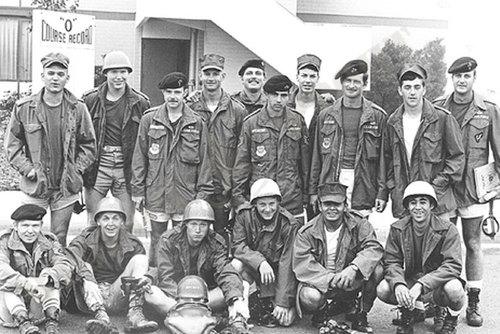 Солдаты армии США в полевых куртках M-65