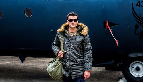 Куртка Slim Fit N-3B Parka