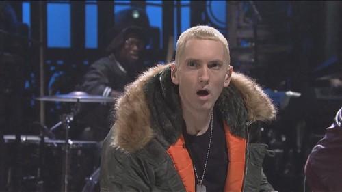 Эминем в куртке Slim Fit N-3B Parka