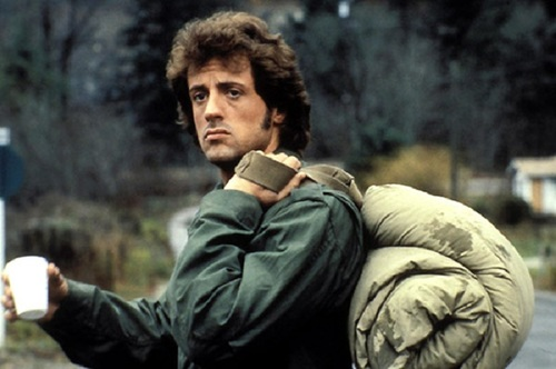 Сильвестр Сталлоне (Рэмбо) в куртке M-65