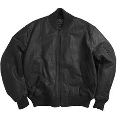 Куртка Leather MA-1 Flight Jacket