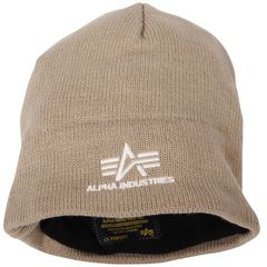 Вязаная шапка Knit Cap With Fleece Lining