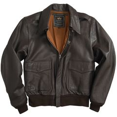 Куртка A-2 Goatskin Leather Jacket