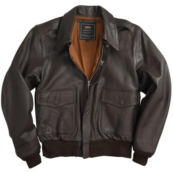 куртка кожаная A-2 Goatskin Leather Jacket, купить, Alpha Industries ... 0318ae5382d