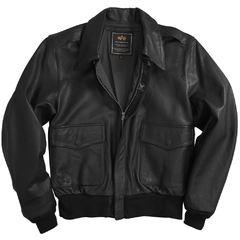 Куртка A-2 Goatskin Leather Jacket