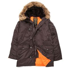 Куртка Slim Fit N-3B Parka