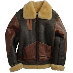 Куртка B-3 Vintage Sheepskin Bomber