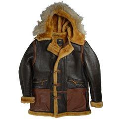 Куртка B-7 Vintage Sheepskin Parka