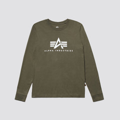 Футболка Basic Logo Long Sleeve Tee
