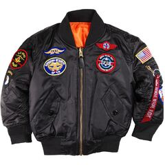 Куртка Youth MA-1 Jacket with Patches