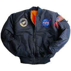 Куртка Youth NASA MA-1 Flight Jacket