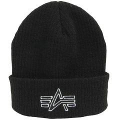 Вязаная шапка Knit Logo Cap