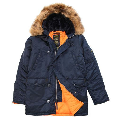 693ebceba8b Куртка Slim Fit N-3B Parka Аляска купить