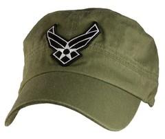 Кепка USAF Logo Flat Top Cap
