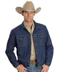 Джинсовая куртка Wrangler Western Unlined Denim Jacket