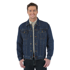 Джинсовая куртка Wrangler Rugged Wear Flannel Lined Denim Jacket